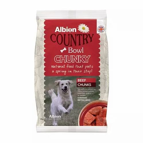 Albion Beef Chunks 2kg