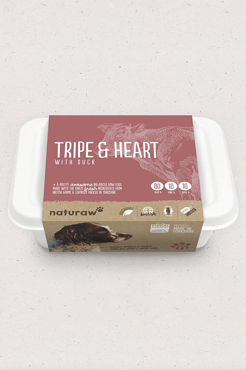 Tripe & Heart with Duck (500g)