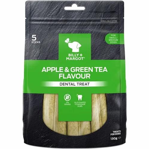 Apple & Green Tea dental sticks