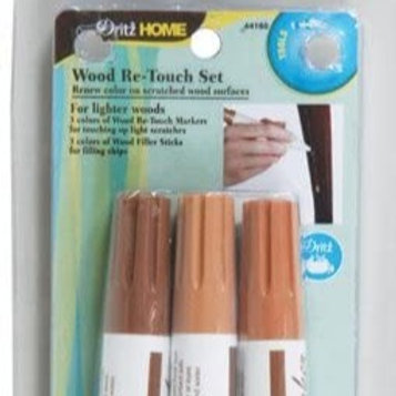 Wood Re-touch Set -- Lighter Woods