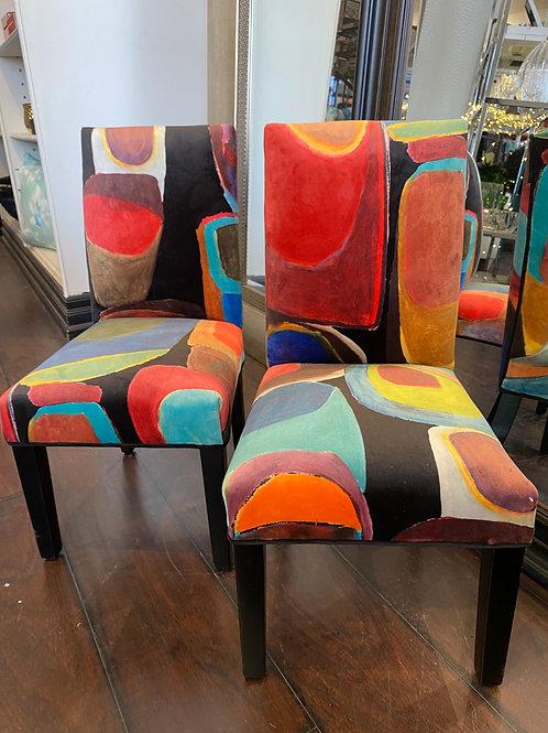 Pierre Frey Mini Chairs