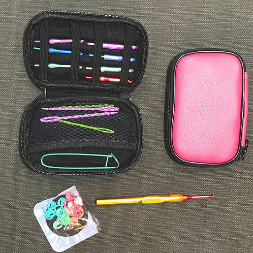 Crochet hook and case