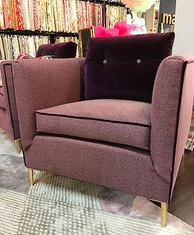 Boho side chair