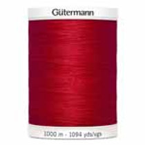 All Purpose thread ruby red 1000m