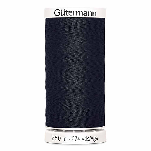 Black All purpose thread 250m
