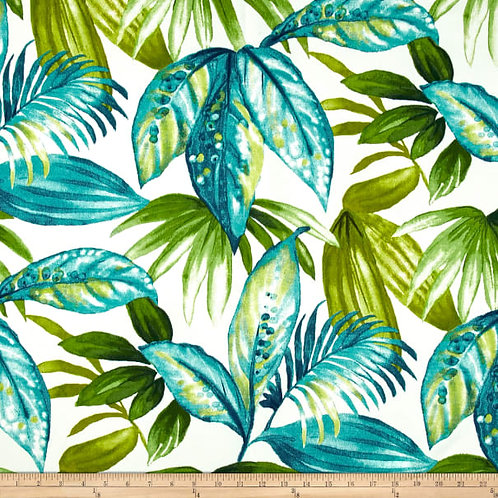 """Paradise blue and green leaves - outdoor- 54"""""""