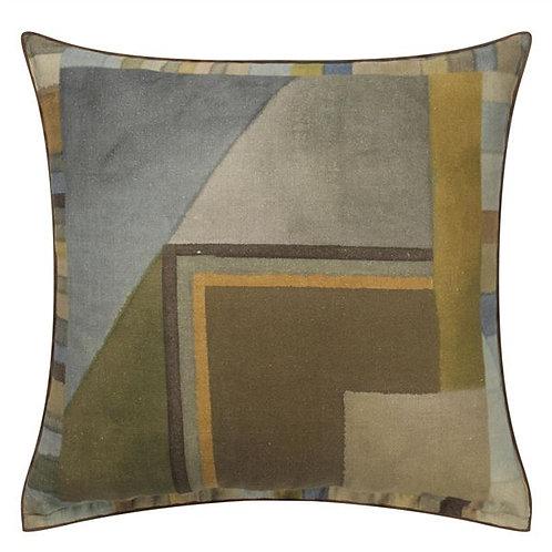 Designer's Guild Alphonse Ochre cushion