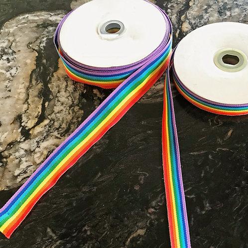 Gay Pride Ribbon 1 1/2