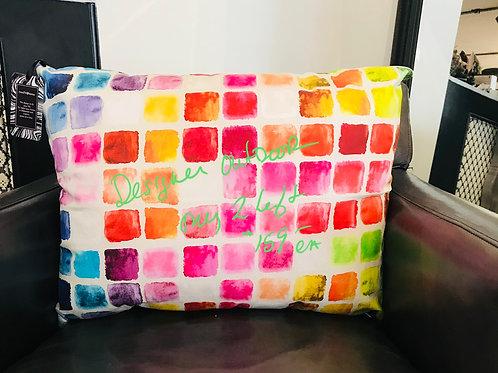 Designer outdoor cushions