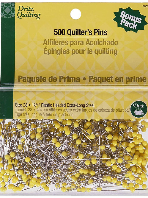 Dritz Quilting Pins - 500