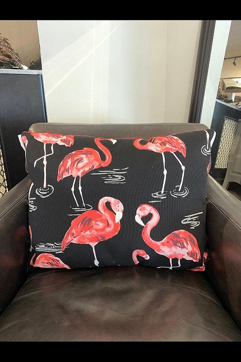 "Fun Flamingos 13"" x 24"""