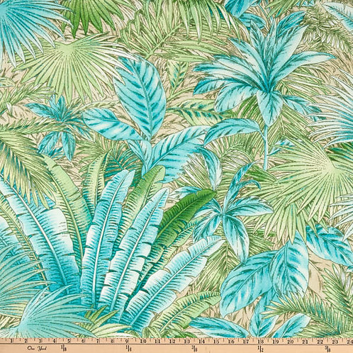 So beautiful teal palms-outdoor-limited quantities