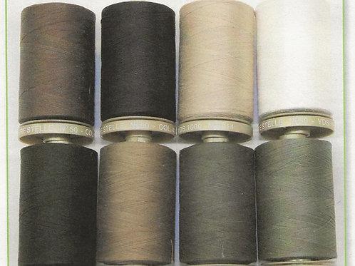 Tre stelle 100% cotton thread colour