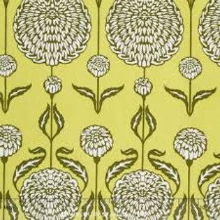 Chrysanthemum - Sage by Joel Dewberry
