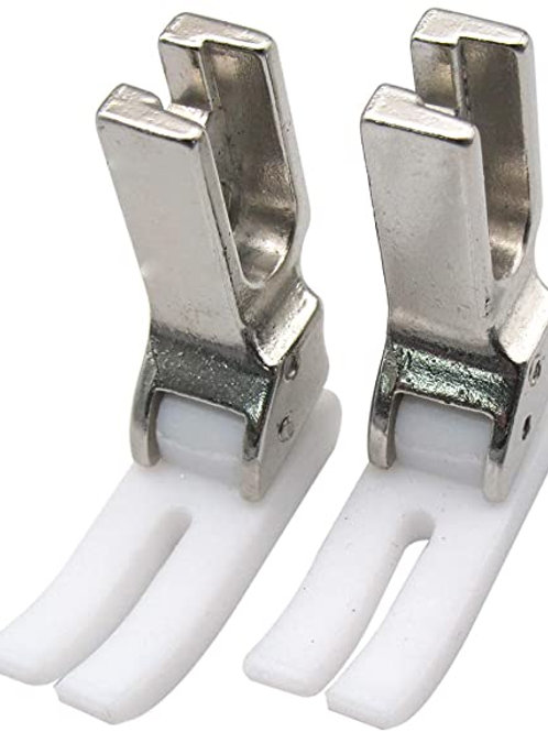 Teflon zipper feet