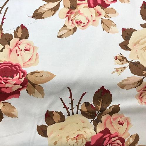 """100% cotton floral print- 54"""" wide"""