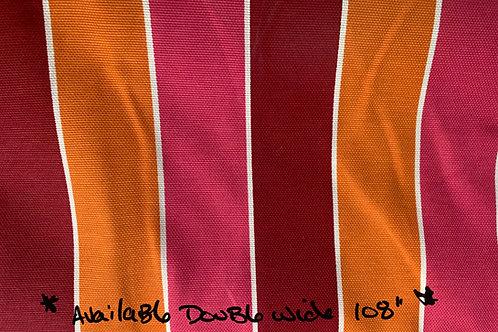"Premium cotton blend prints -novelty fun stripes- 108"" wide"