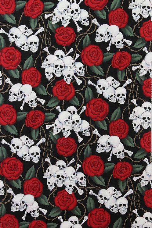 "skulls - Alexander Henry 45"" wide"