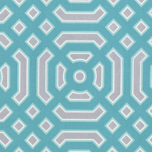 Ditto - Turquoise by Joel Dewberry