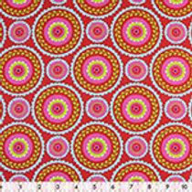 100% cotton prints - multi circles