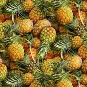 Fruitstand Pineapples