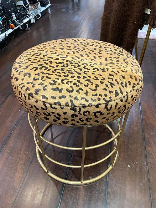 Midcentury Modern Leopard stool