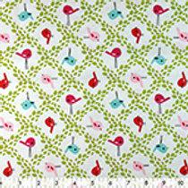 100% cotton prints- birdies!