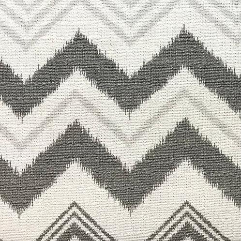 """Cotton prints 54"""" wide grey chevron"""