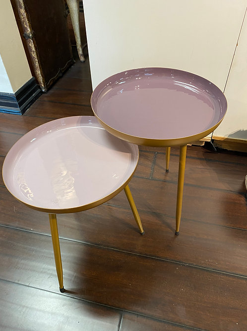 Lavender & Lilac Nesting Tables