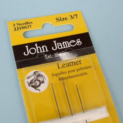 Hand sewing needles -leather