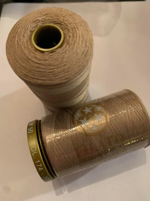 Tre stelle 100% cotton thread colour : 174 beige