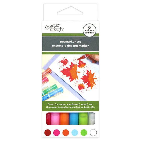 Posmarker Set - 6 Colours