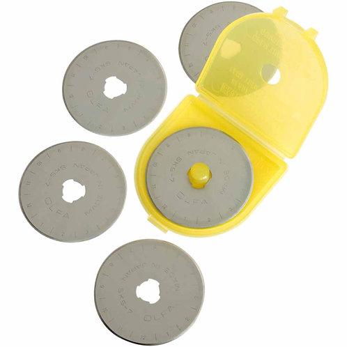 Olfa 5- pack blades 45 mm