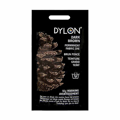 Dylon 50g Dye - Dark Brown