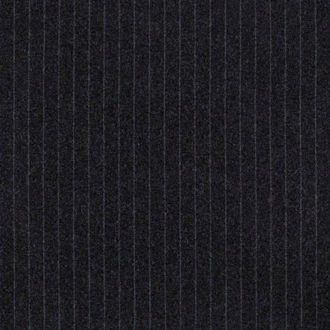 Jermyn stripe Charcoal and Cyan