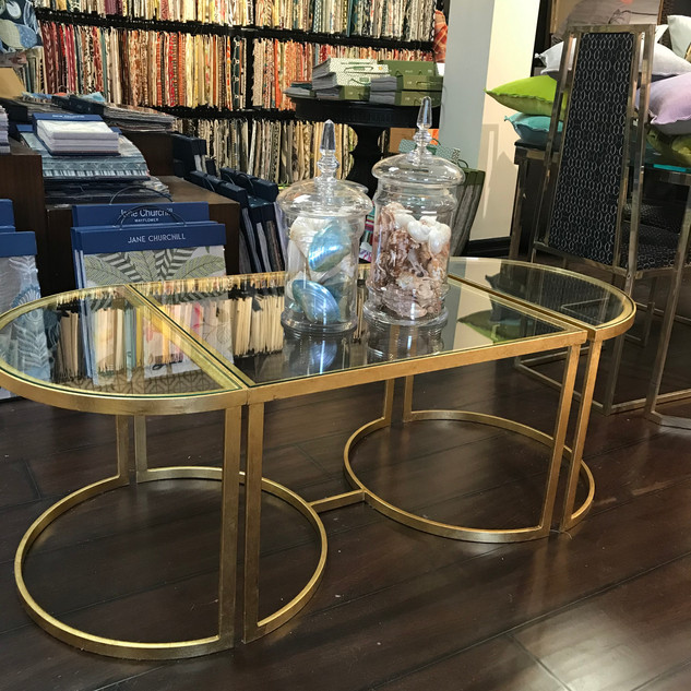 3-piece Italian customizable coffee table