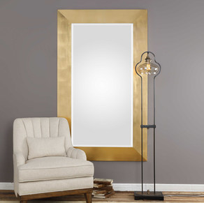 Brushed Gold Mirror