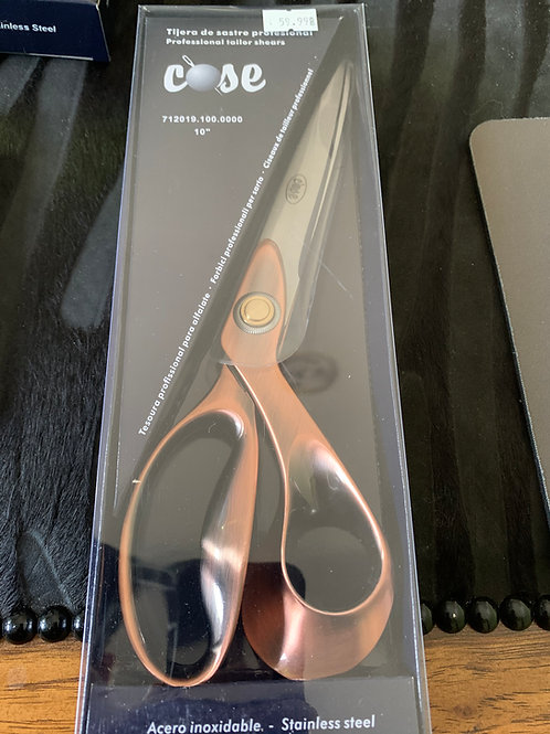 """Professional Tailor shears 10"""" metal...CLASSIC !"""