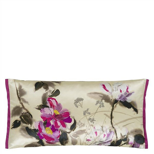 Designer's Guild Lisse Amethyst cushion