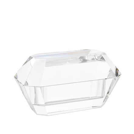 Emerald cut crystal box