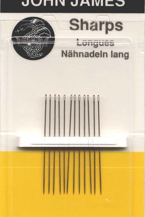 Sharps hand sewing needles
