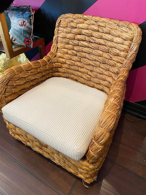 Banana Leaf wicker chairs