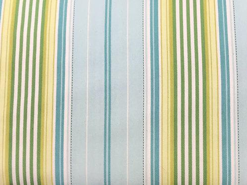"""Multi green/blue stripe 54"""" wide"""