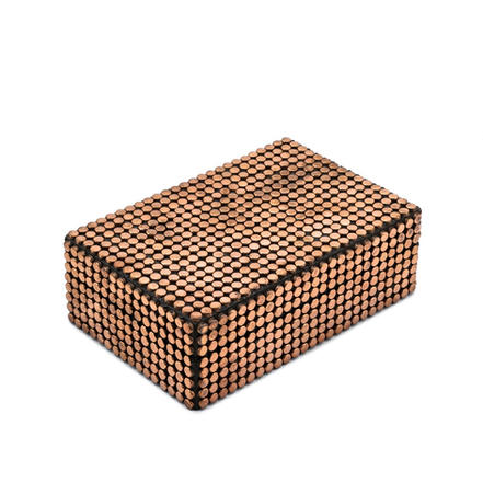 Gold Studded box