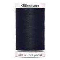 All Purpose thread white 500m black