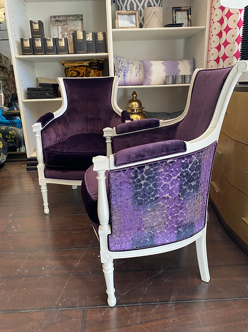 Vintage French Occasional chairs