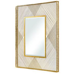 Crosshatch Mirror
