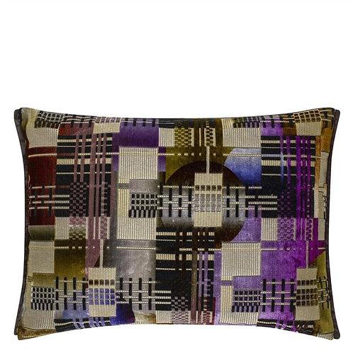 Designer's Guild Chandigarh berry cushion