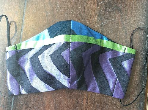 Designer's Guild Indupala Mask - Ultraviolet