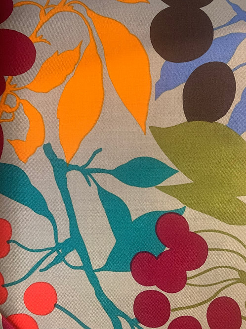 Pretty things-teals, reds and oranges